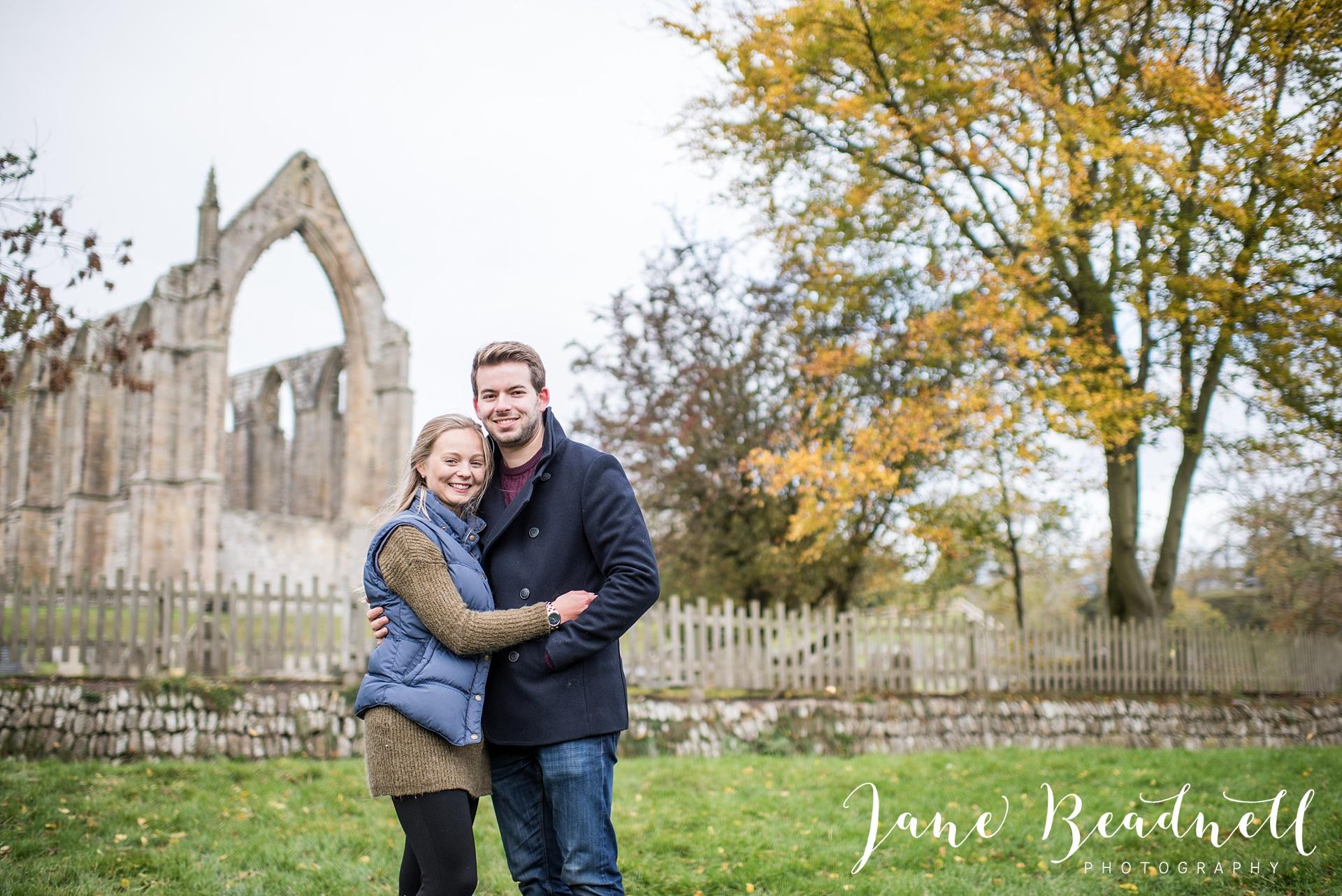 Bolton Abbey wedding photographer Skipton Bolton Abbey Engagement Shoot by Jane Beadnell Photography Yorkshire and UK Wedding Photographer
